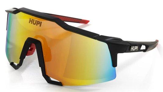 Óculos de Ciclismo HUPI Stelvio - Lente Vermelho Espelhado