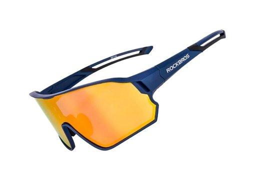 Óculos de Ciclismo Rockbros RB-10134 Preto