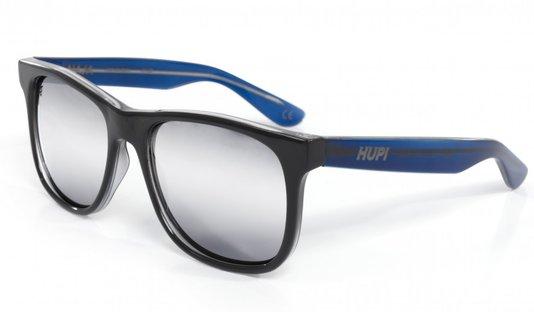 Óculos De Sol Hupi Naja Infantil Preto Cristal/Azul Cristal - Lente Espelhada