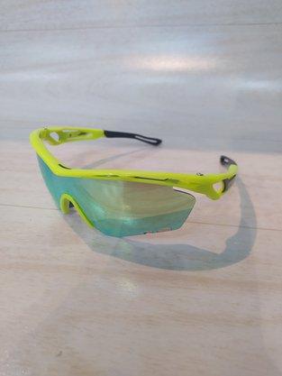Óculos de Ciclismo com 3 Lentes Dvorak Verde Lente Espelhada