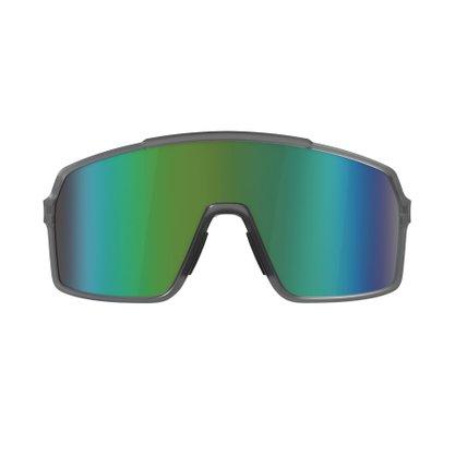 Óculos Hb Grinder Matte Smoky Quartz Green Espelhado