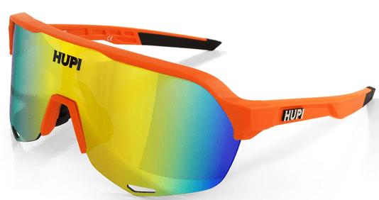 Óculos Hupi Huez Laranja/Preto - Lente Laranja Espelhada