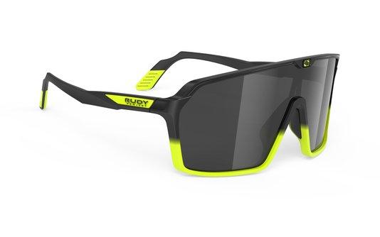 Óculos Rudy Spinshield Black Matte Black/Yellow Fluorescente Matte