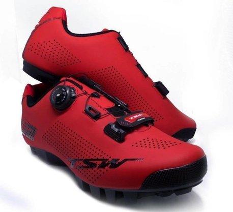 Sapatilha de Ciclismo TSW MTB Smart U2 - Vermelha