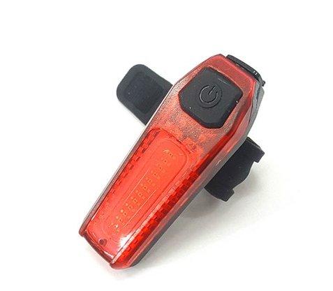 Sinalizador Traseiro LL H1518 - Recarregável USB - Luz Vermelha