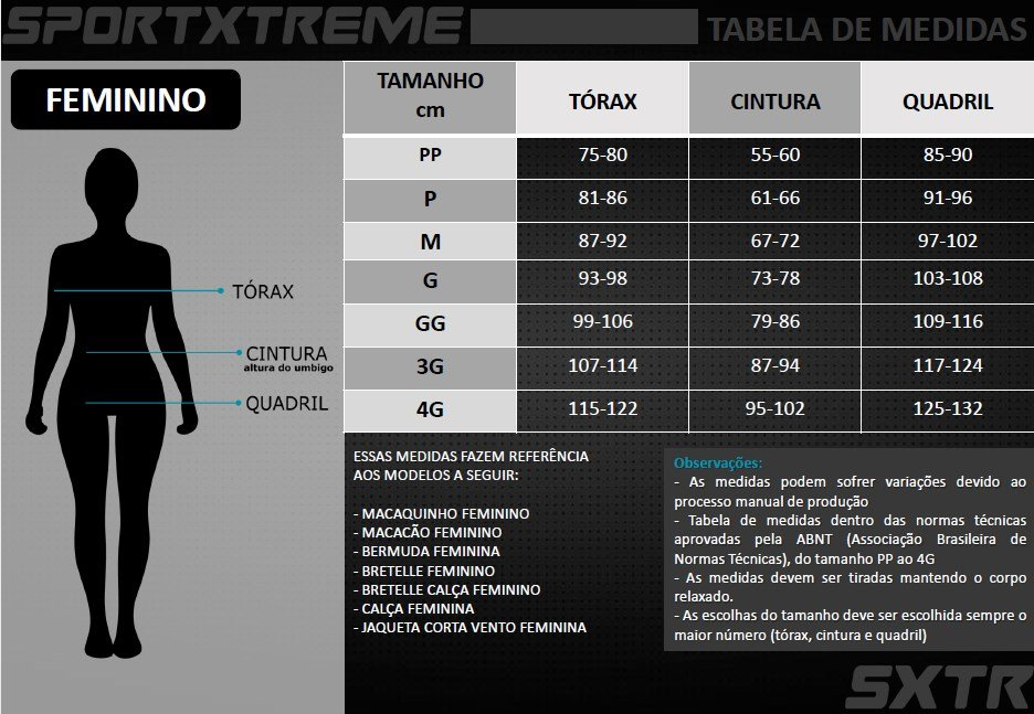 Macaquinho Ciclismo Feminino Expert Sport Xtreme Alune Manga Longa