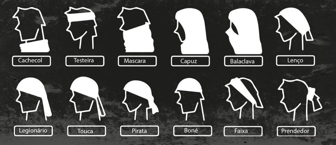 Bandana Tubular Sport Xtreme Army