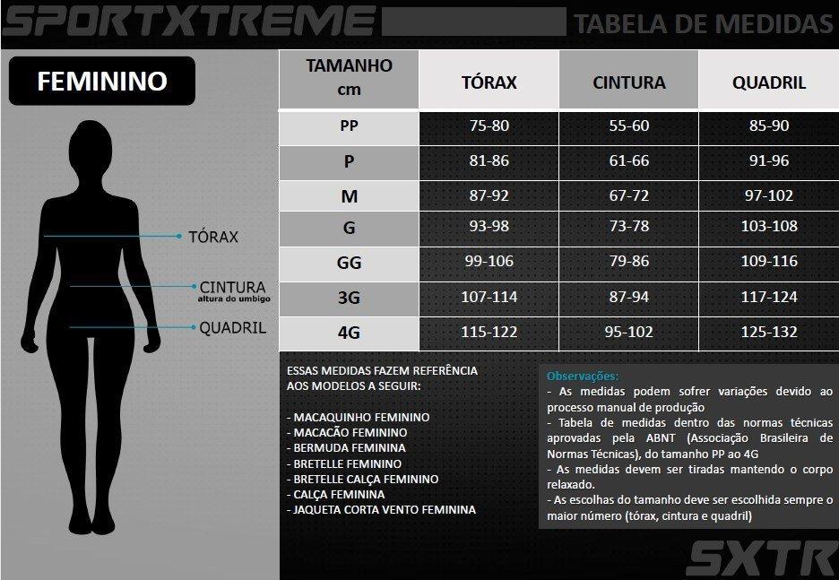 Kit Macaquinho Confort Manga Longa Mescla SportXtreme + Meia Bike Hupi