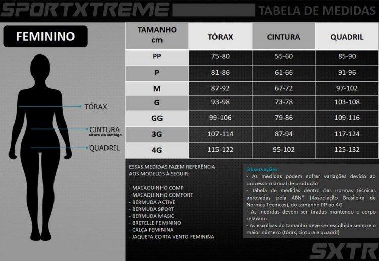 Bermuda de Ciclismo Feminina SportXtreme Move M