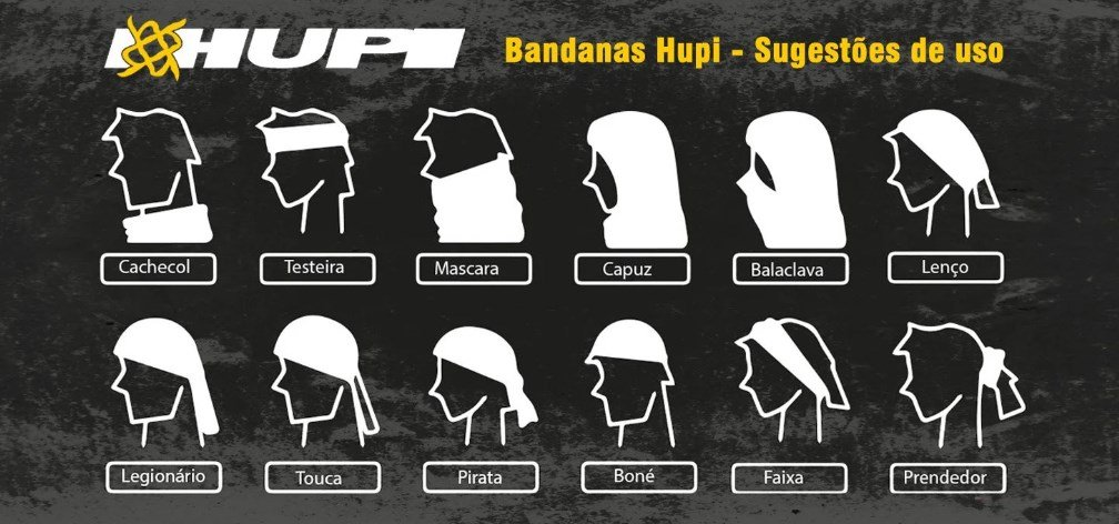 Bandana Hupi - Asas
