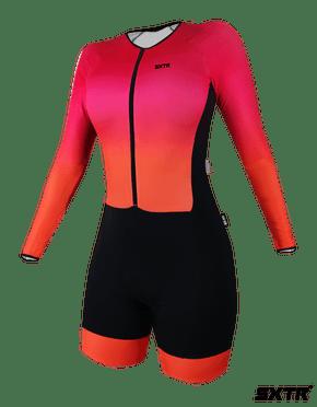 Macaquinho Ciclismo Manga Longa Sport Xtreme Solene