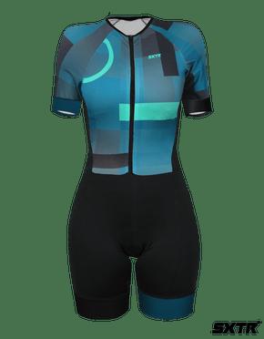 Macaquinho Confort de Ciclismo Feminino SportXtreme Tóquio
