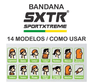 Bandana Sportxtreme Califórnia