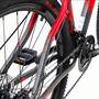 Bicicleta Alumínio Tsw Ride 21V Vemelho/Cinza 17
