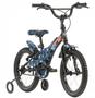 Bicicleta Infantil Groove T16 Aro 16 4-6 Anos Azul Camuflada