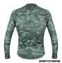 Camisa Slim Manga Longa Sport Xtreme Army