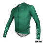 Camisa Slim Manga Longa Sport Xtreme Move Verde